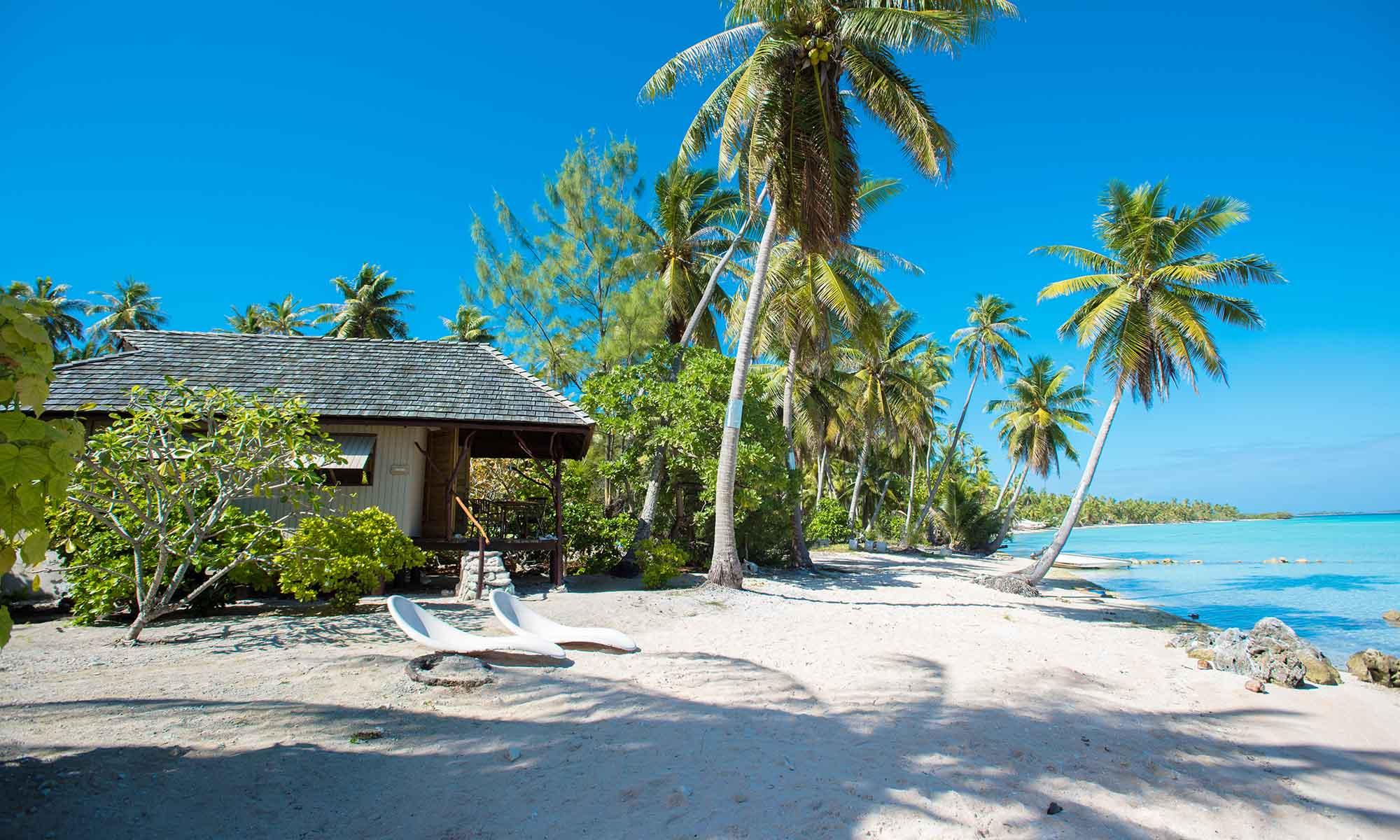 Cocoperle Lodge Atoll Of Ahe French Polynesia Tahiti Com