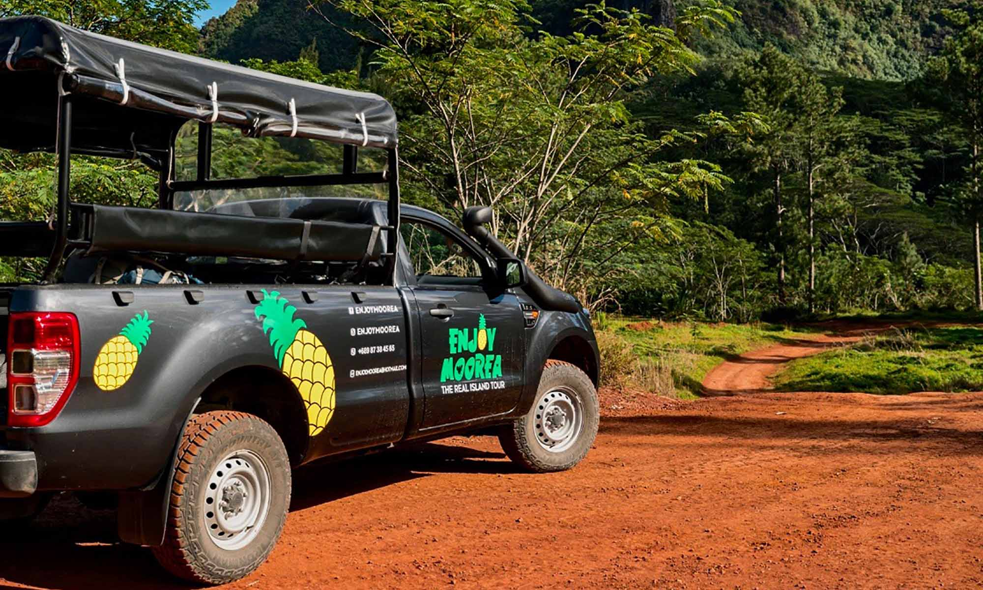 Enjoy Moorea, 4x4 Safari