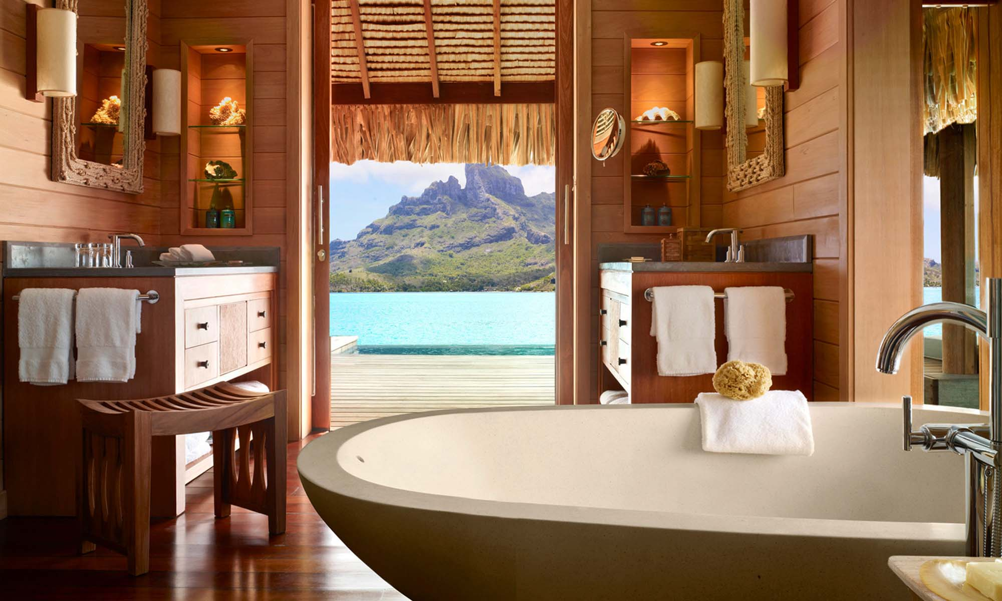 Four Seasons Resort Bora Bora, Overwater Bungalow with Pool
