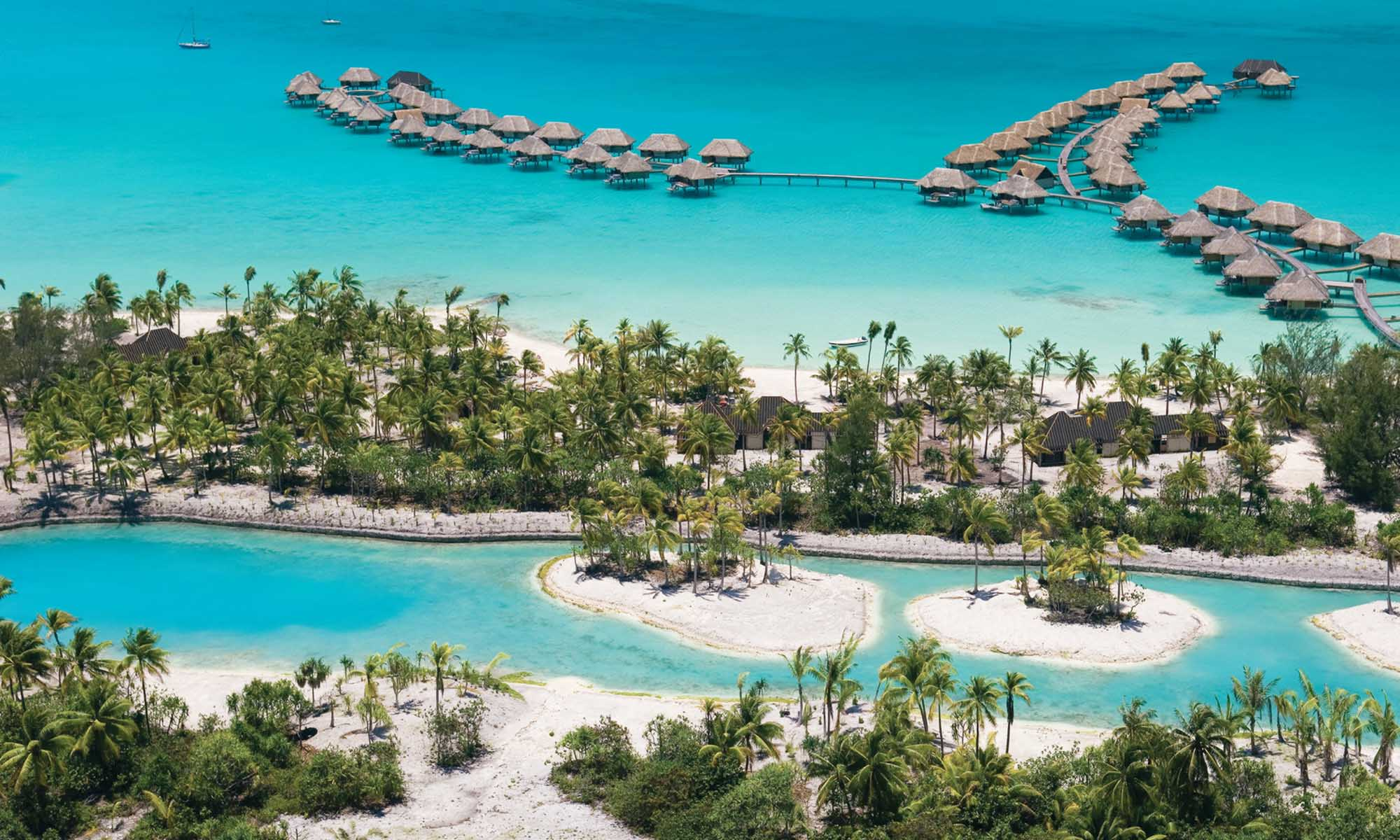 Four Seasons Resort Bora Bora, Aerial View