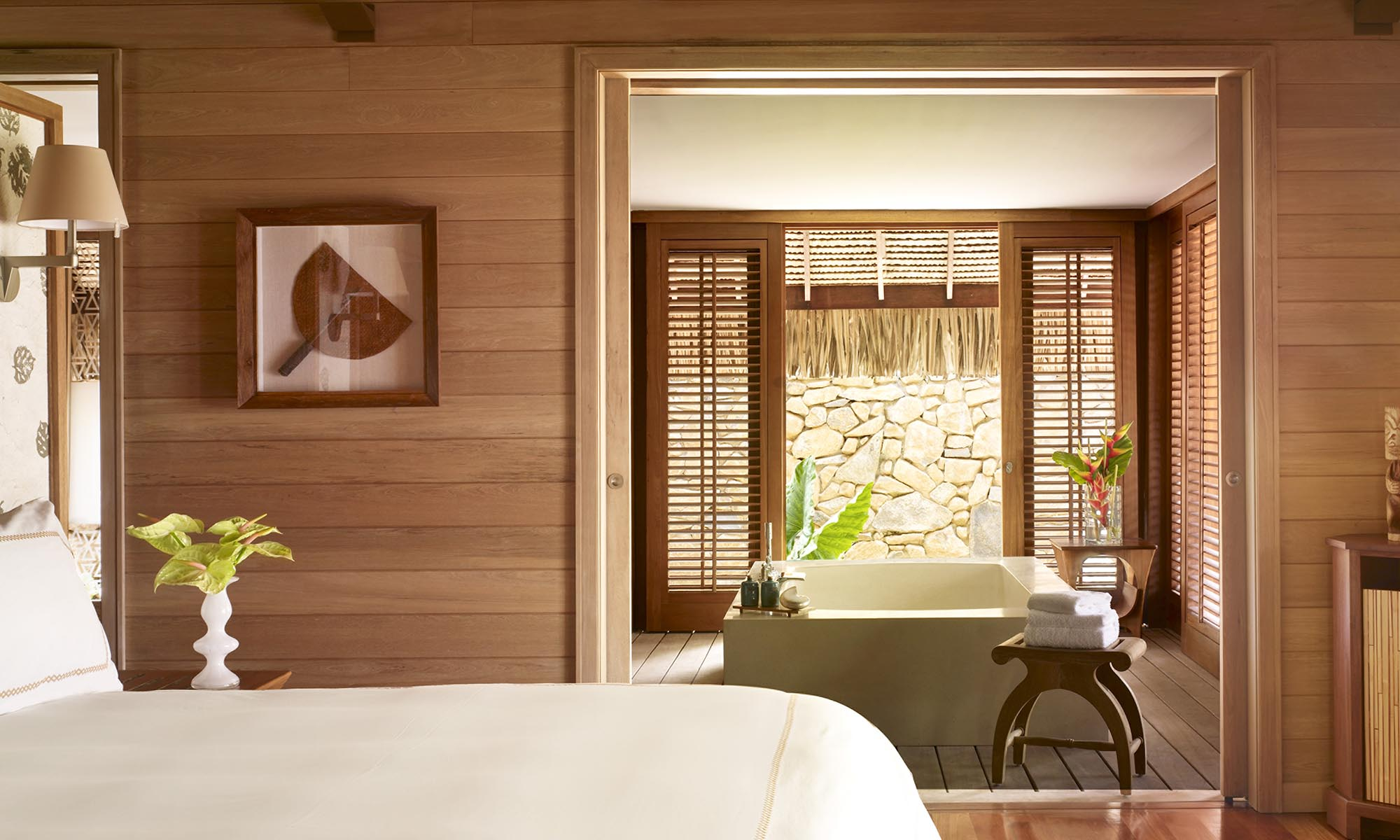 Four Seasons Resort Bora Bora, Beach Villa Bedroom