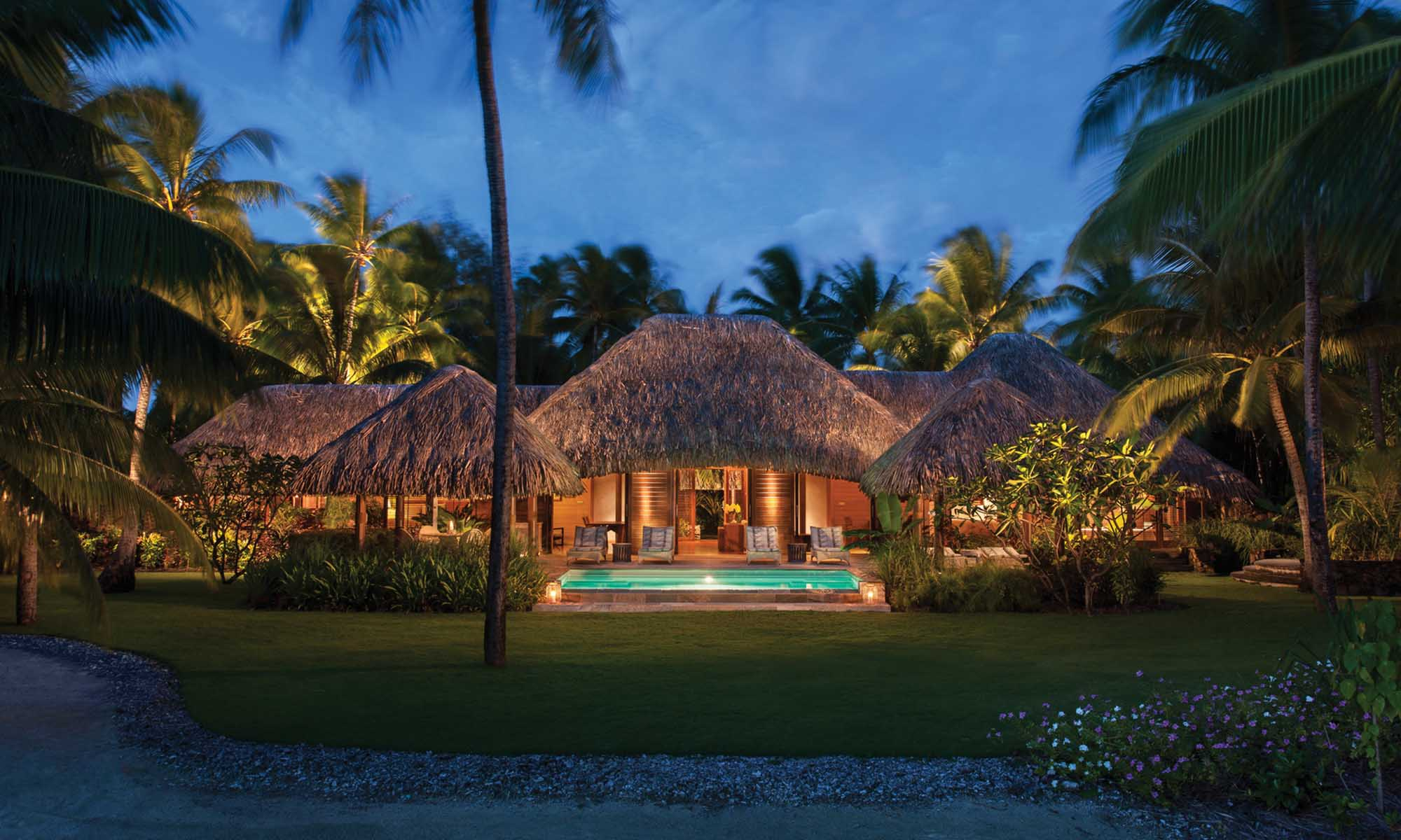 Four Seasons Resort Bora Bora, Beach Villa
