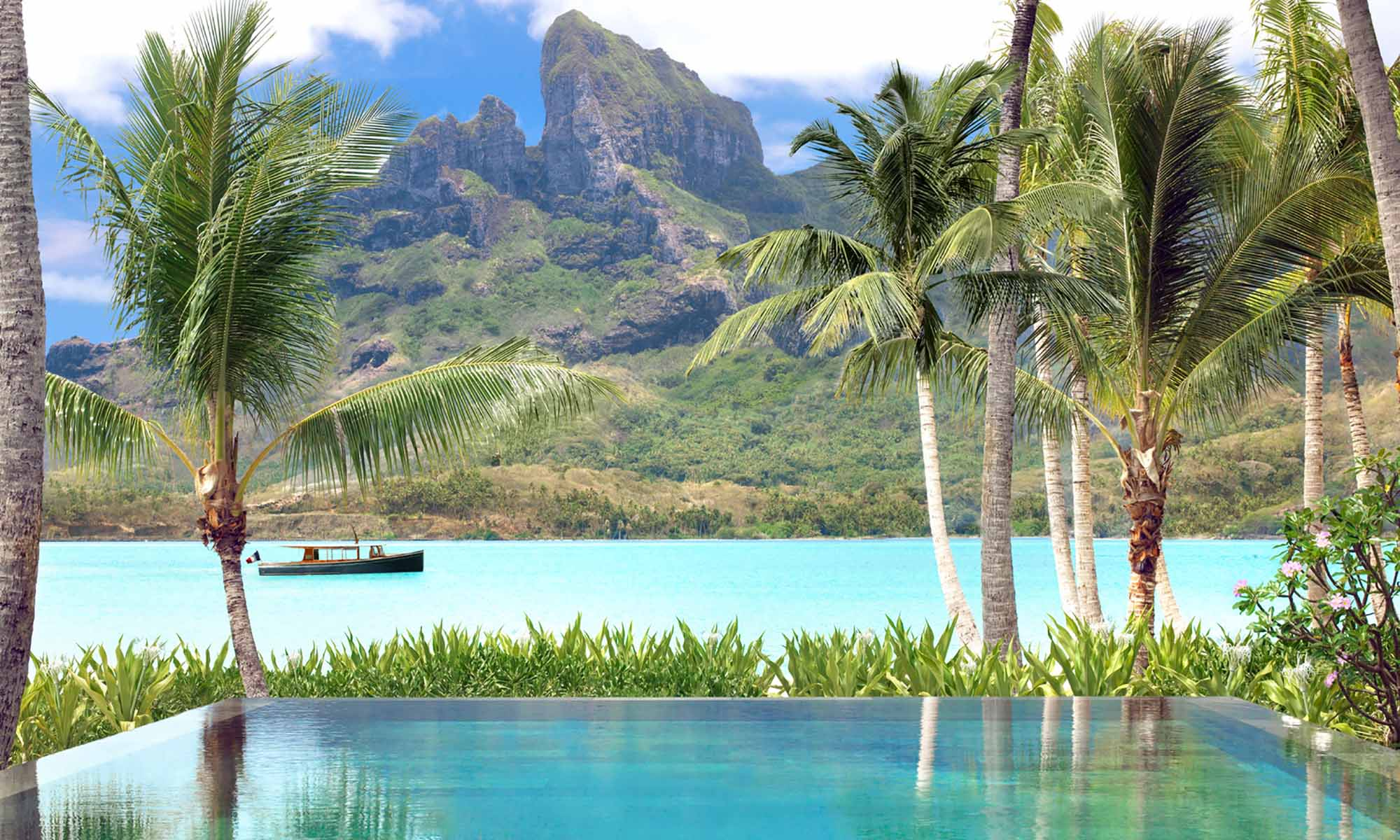 Four Seasons Resort Bora Bora, Otemanu View