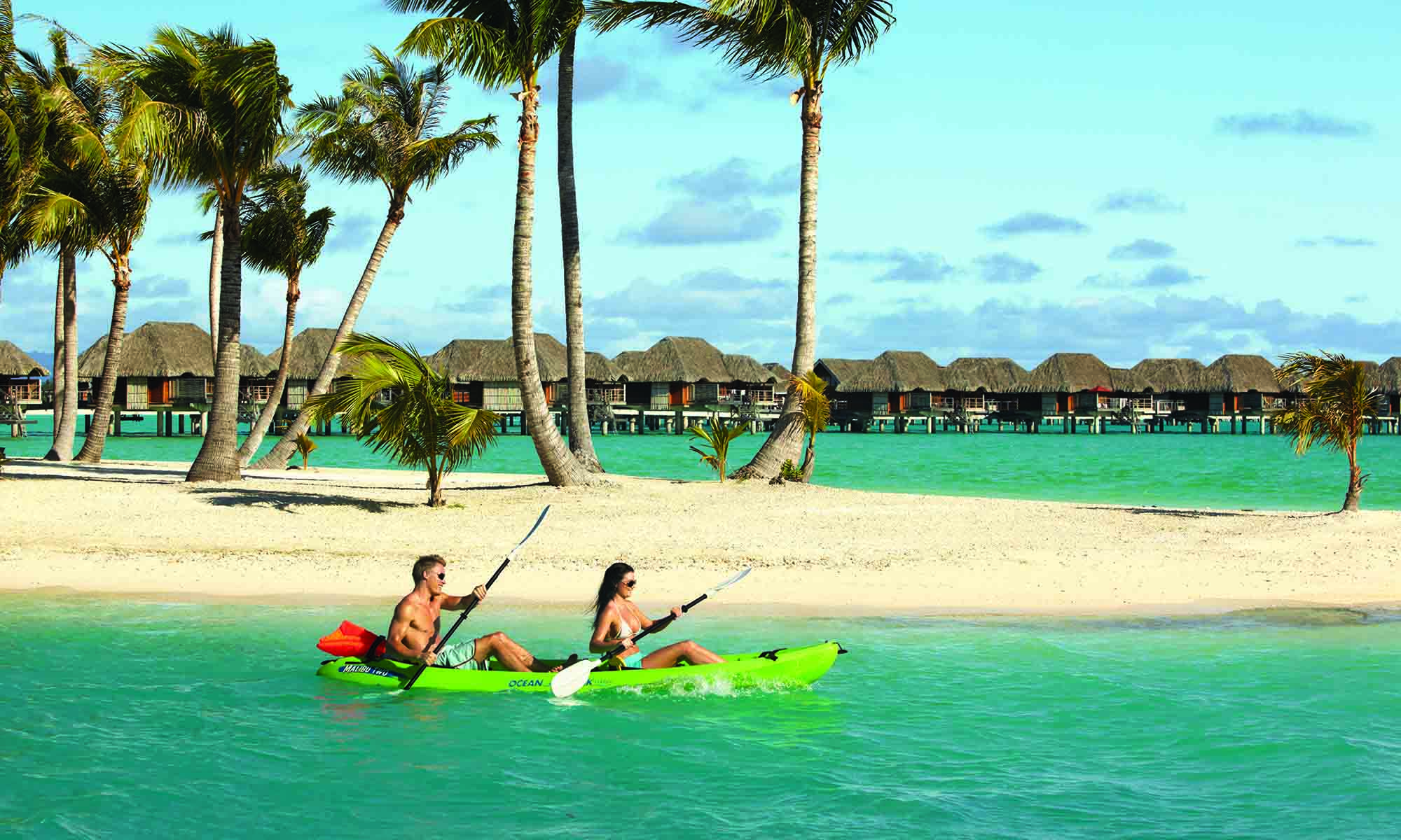 Four Seasons Resort Bora Bora, Kayaking