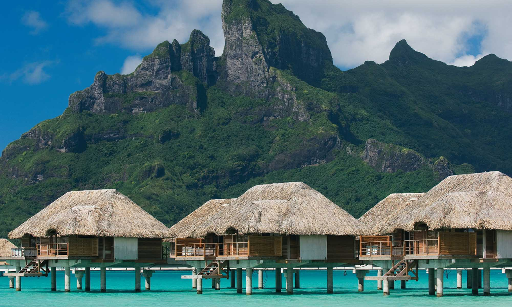 Four Seasons Resort Bora Bora, Overwater Bungalows
