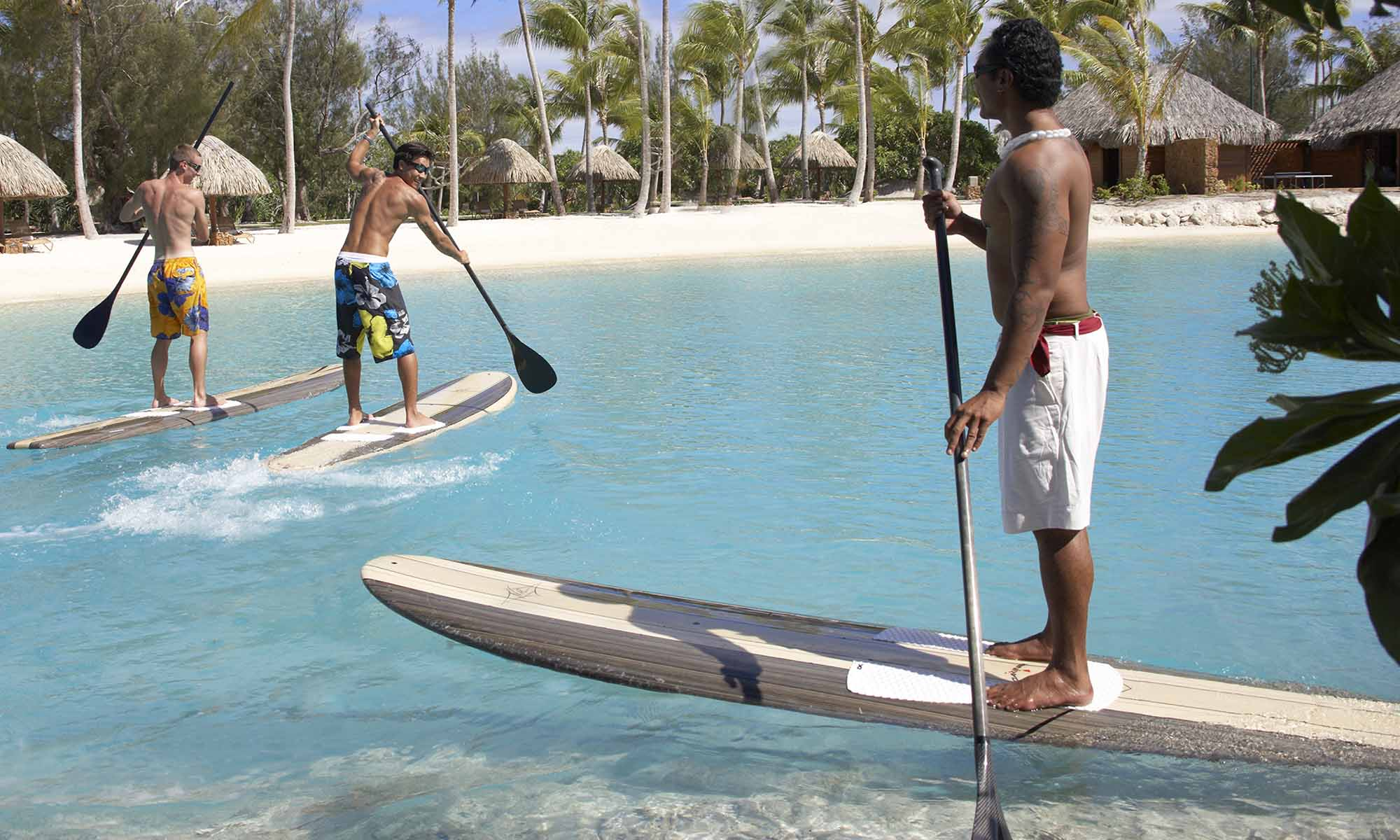 Four Seasons Resort Bora Bora, Paddleboarding