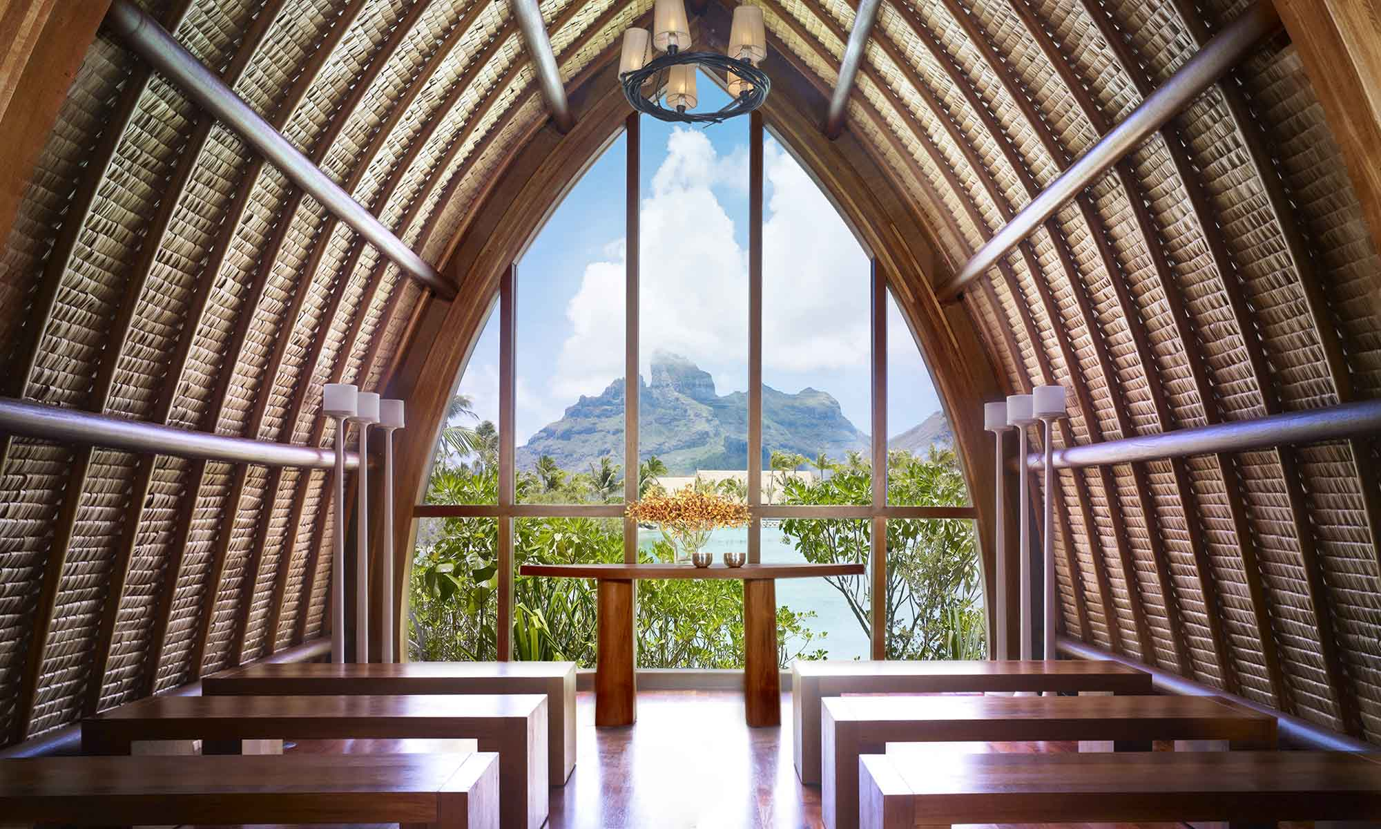 Four Seasons Resort Bora Bora, Wedding Chapel