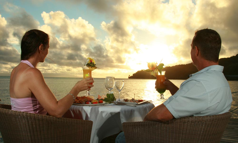 Relais Mahana, Romantic Dinner