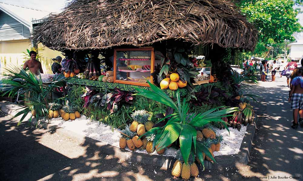 Huahine village shop