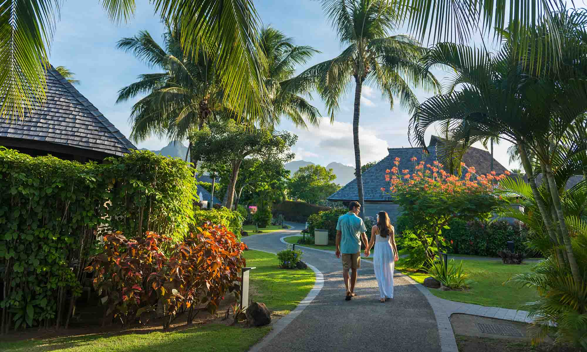 Hilton Moorea, Resort Grounds