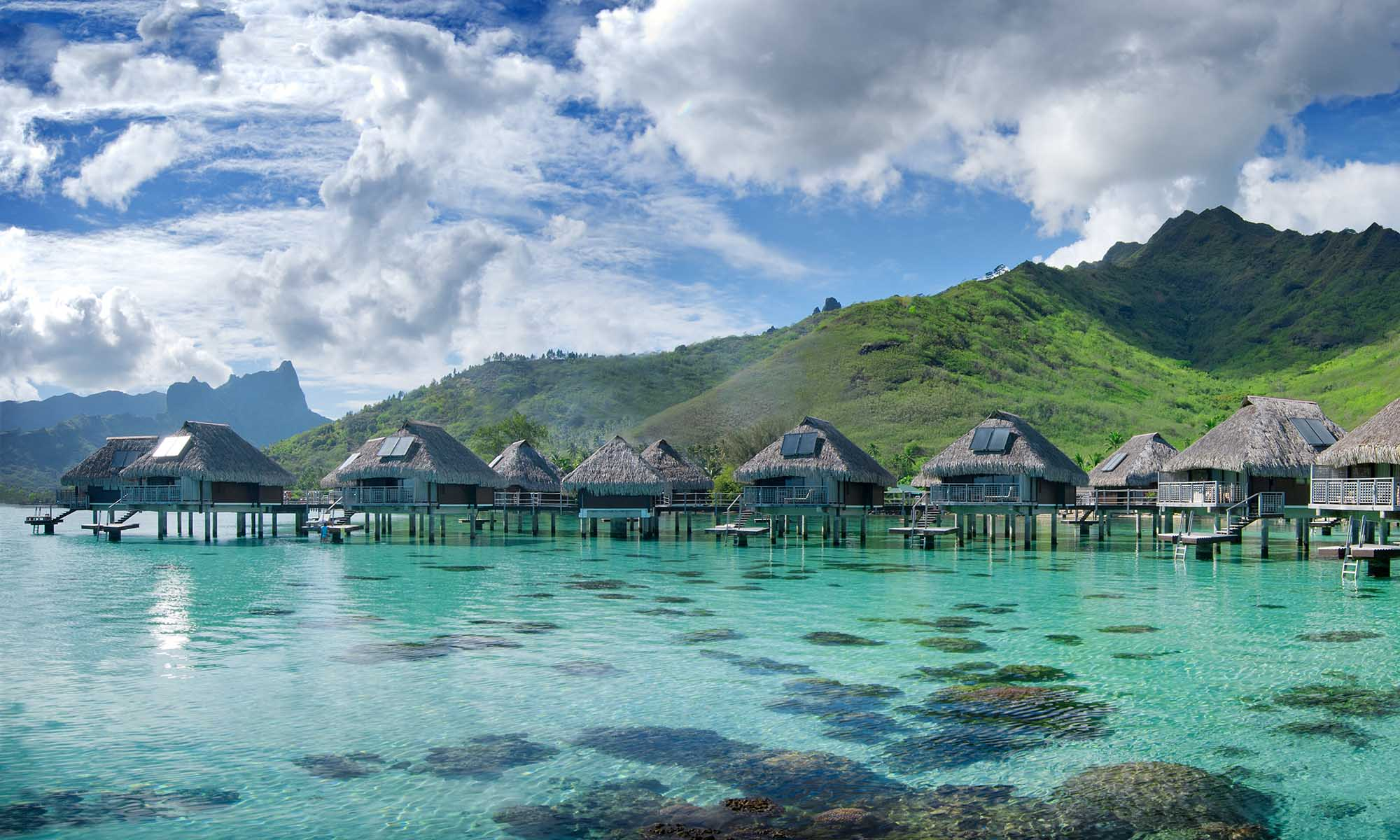 Hilton Moorea, Overwater Bungalows