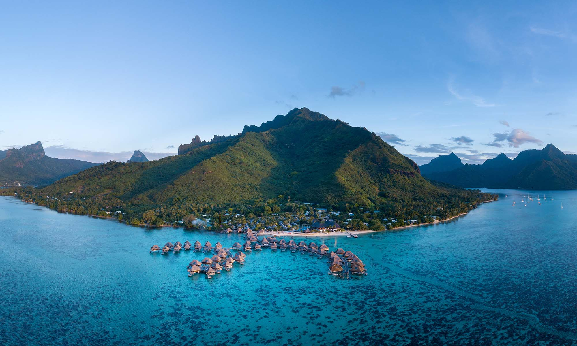 Hilton Moorea, Panoramic View of the Resort