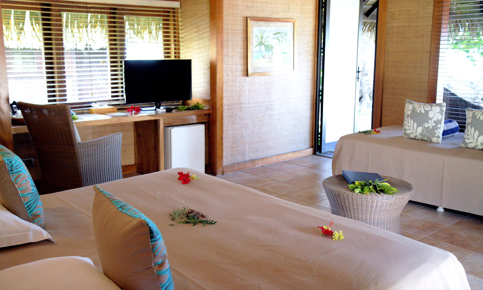 Hotel Le Mahana Huahine, Deluxe Bungalow