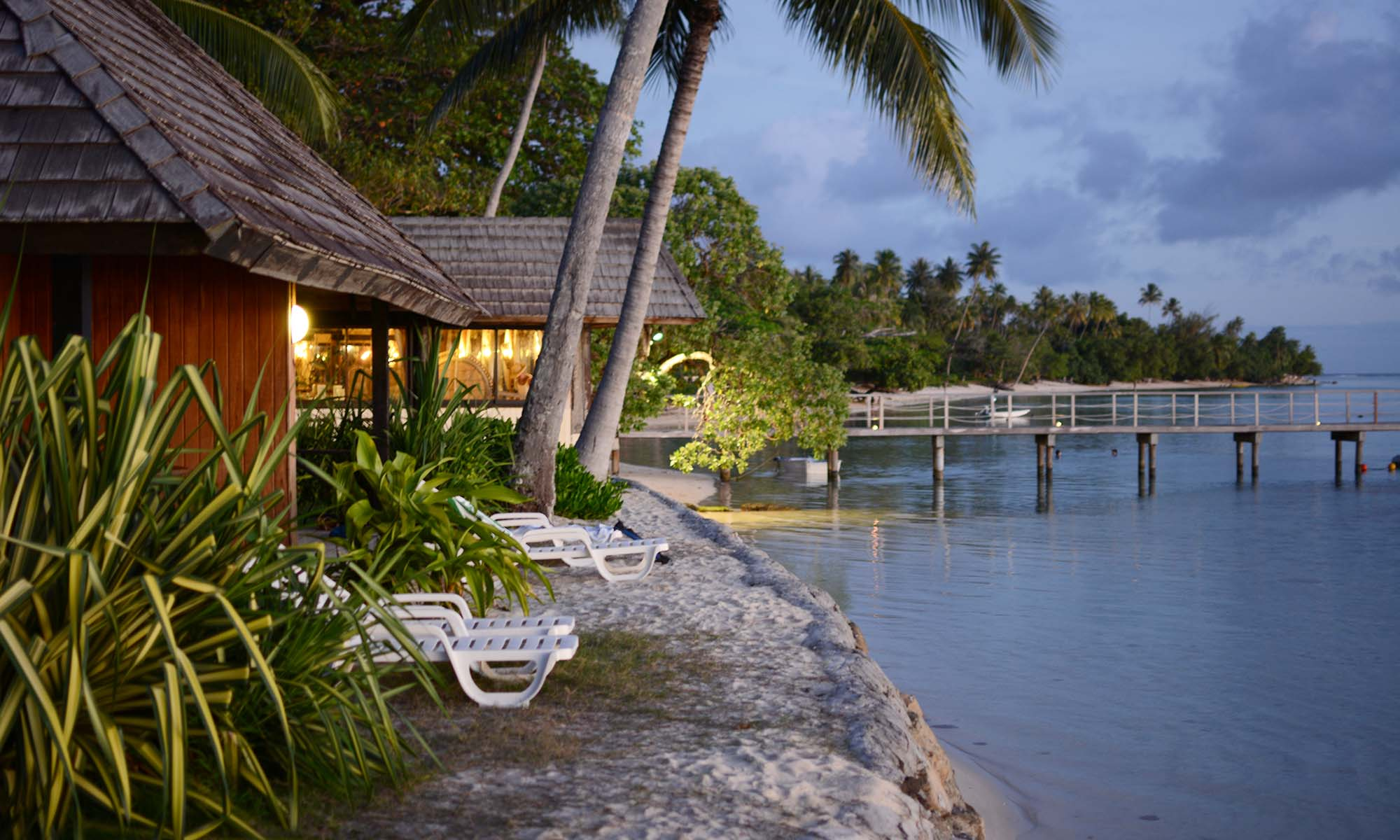 Hotel Le Mahana Huahine, Deluxe Lagoon View Bungalows