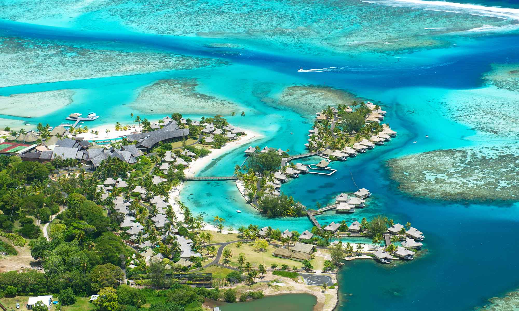 InterContinental Moorea Resort & Spa, Aerial