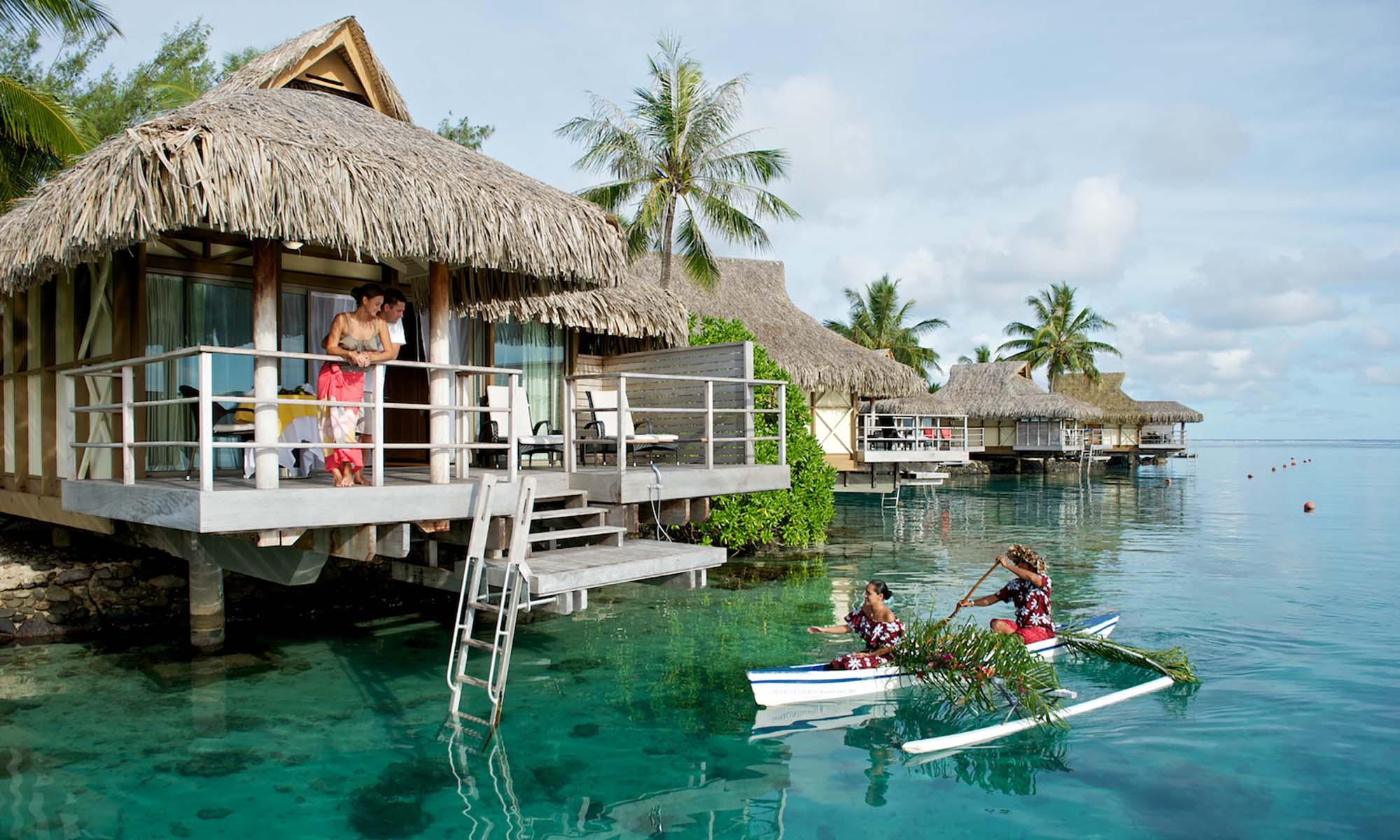 Moorea Overwater Honeymoon Intercontinental Tahiti Com