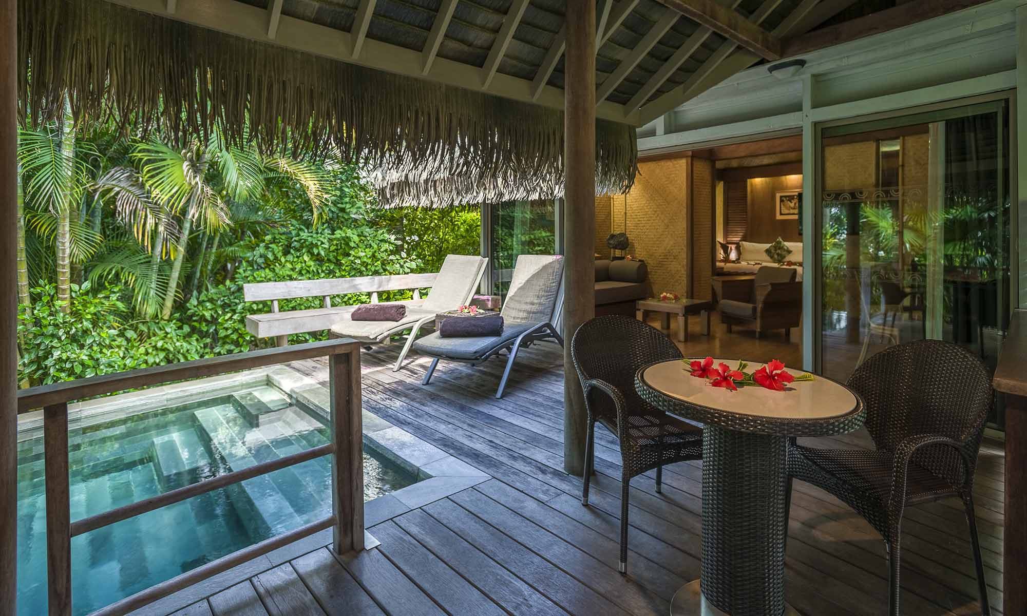 InterContinental Moorea Resort and Spa, Garden Pool Bungalow