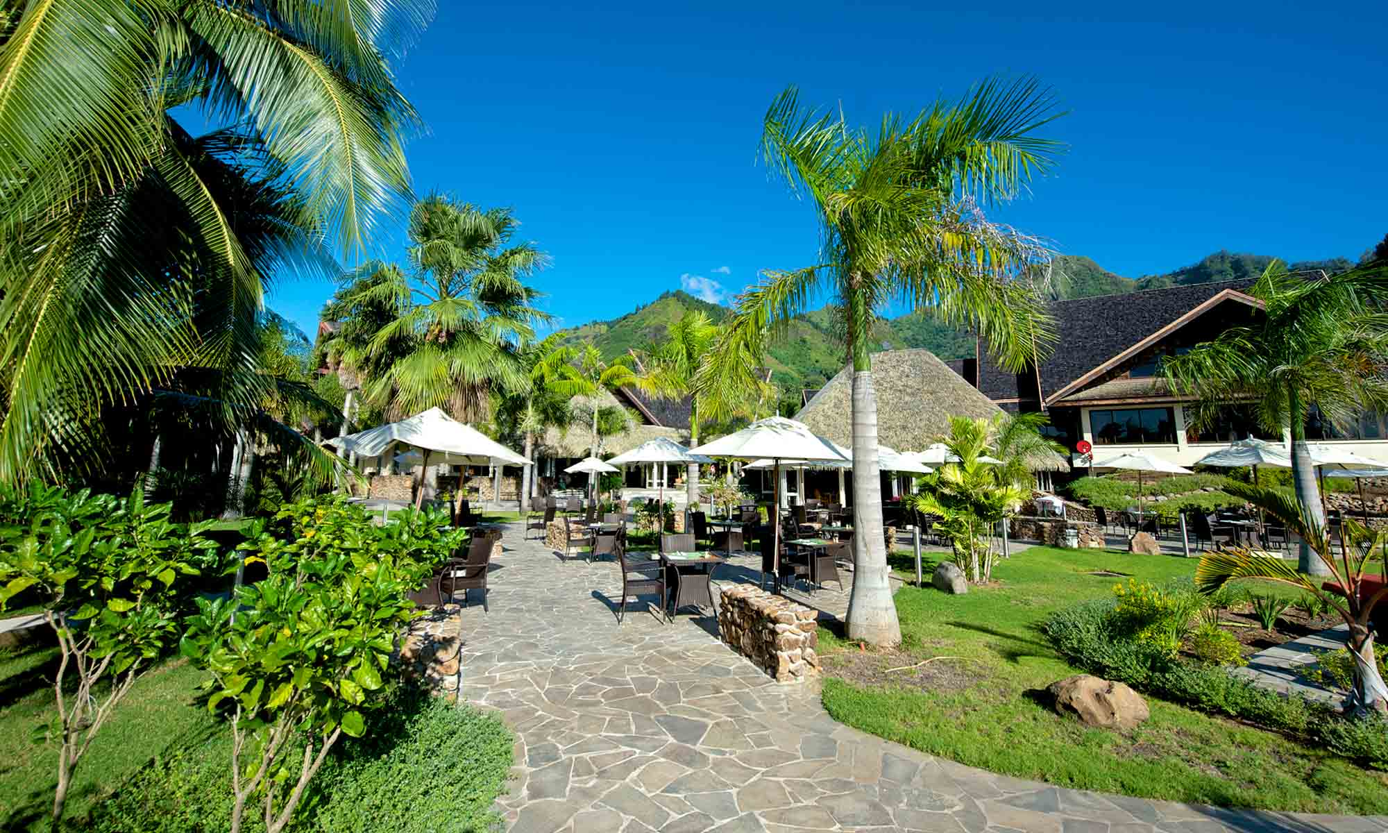 InterContinental Moorea Resort and Spa, Hotel Grounds