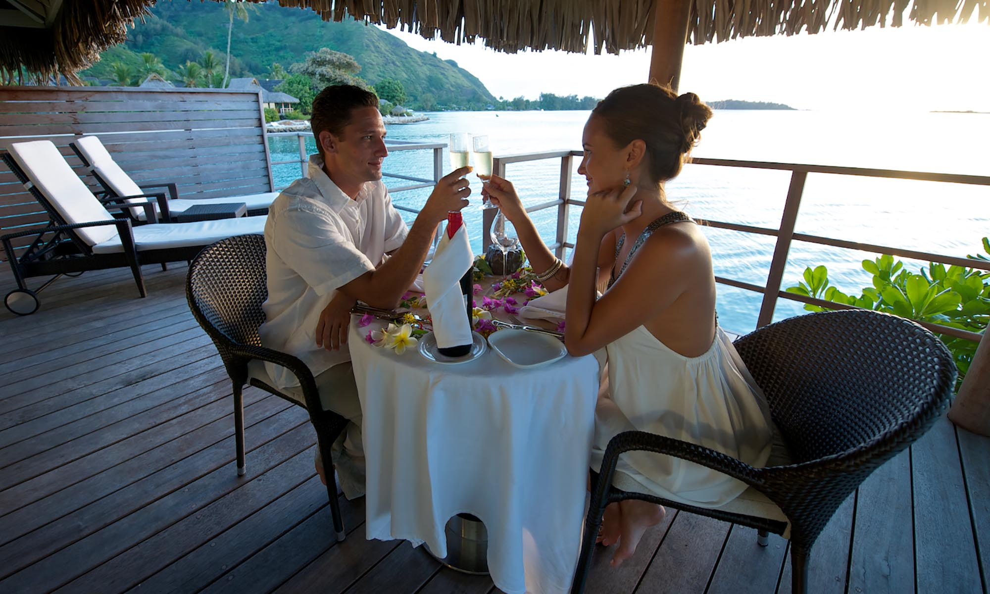 InterContinental Moorea Resort and Spa, Private Dining