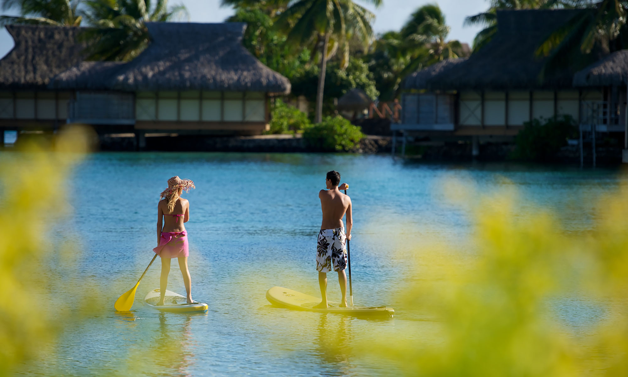 InterContinental Moorea Resort and Spa, Paddleboarding