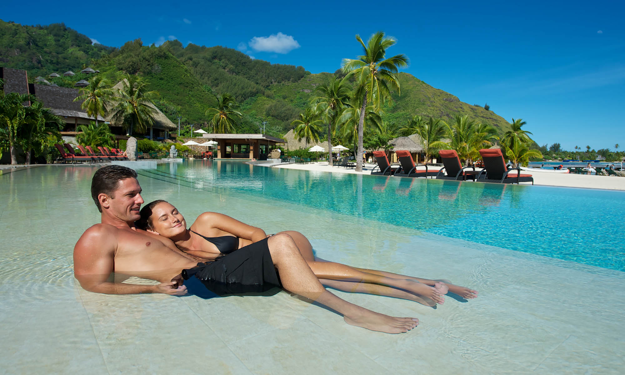 InterContinental Moorea Resort and Spa, Pool