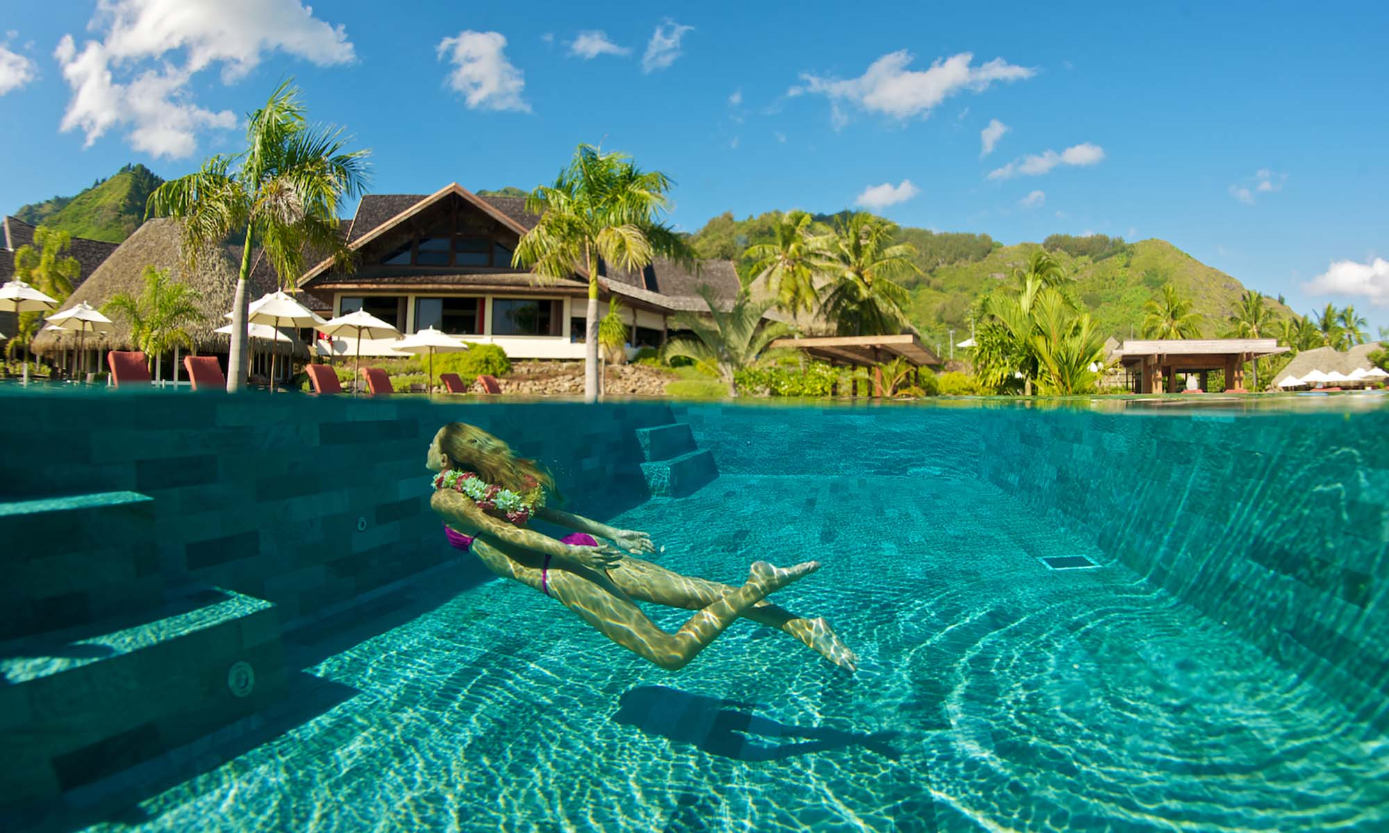 InterContinental Moorea Resort & Spa, Swimming
