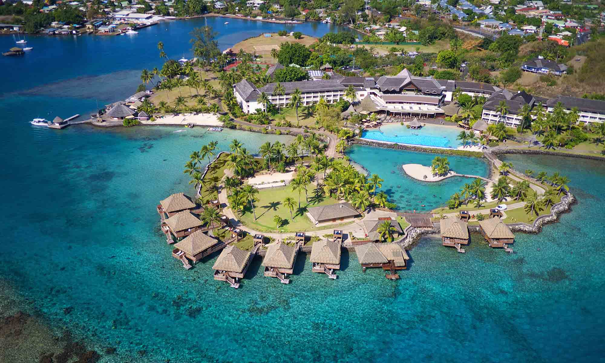 InterContinental Tahiti Resort & Spa, Aerial View