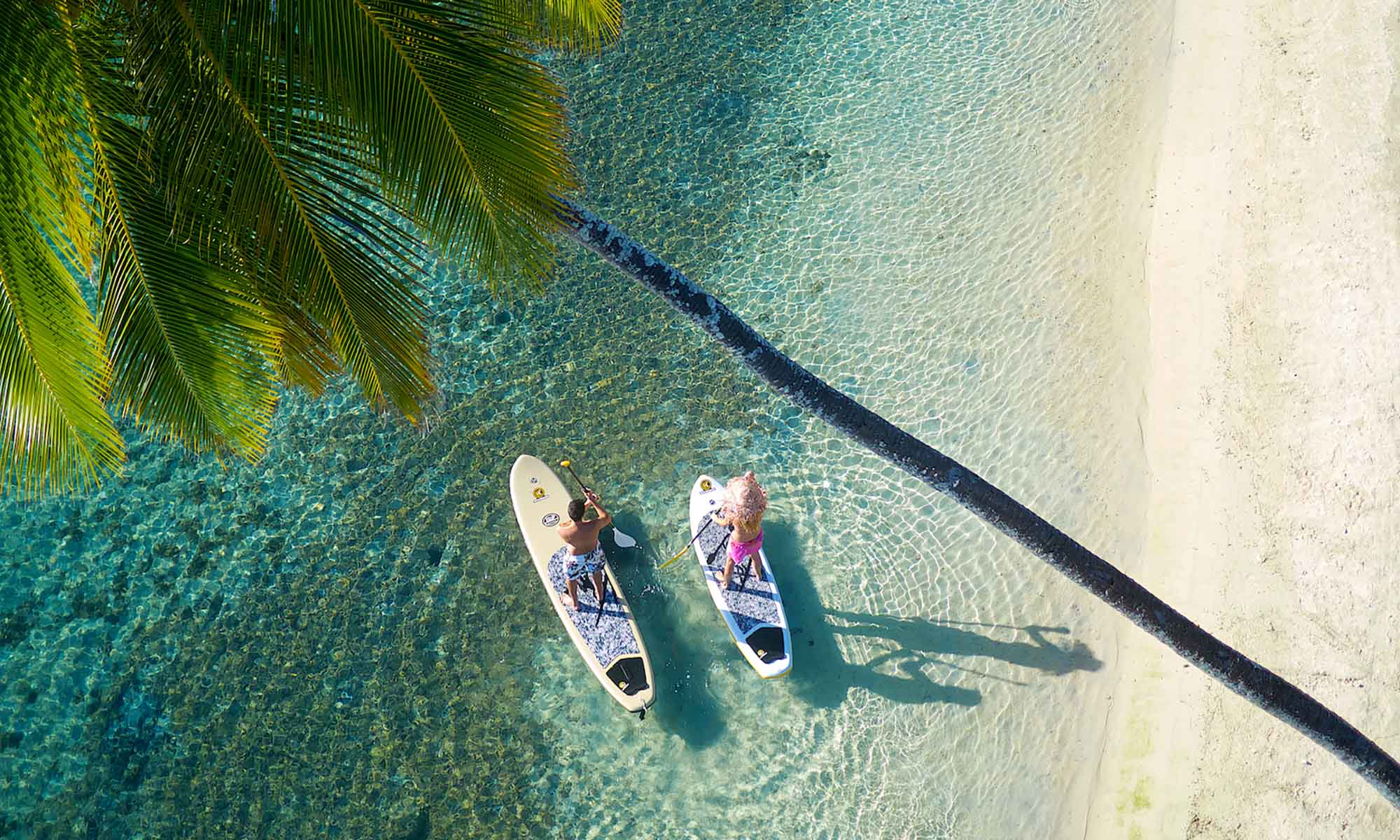 Paddleboarding, InterContinental Moorea Resort & Spa