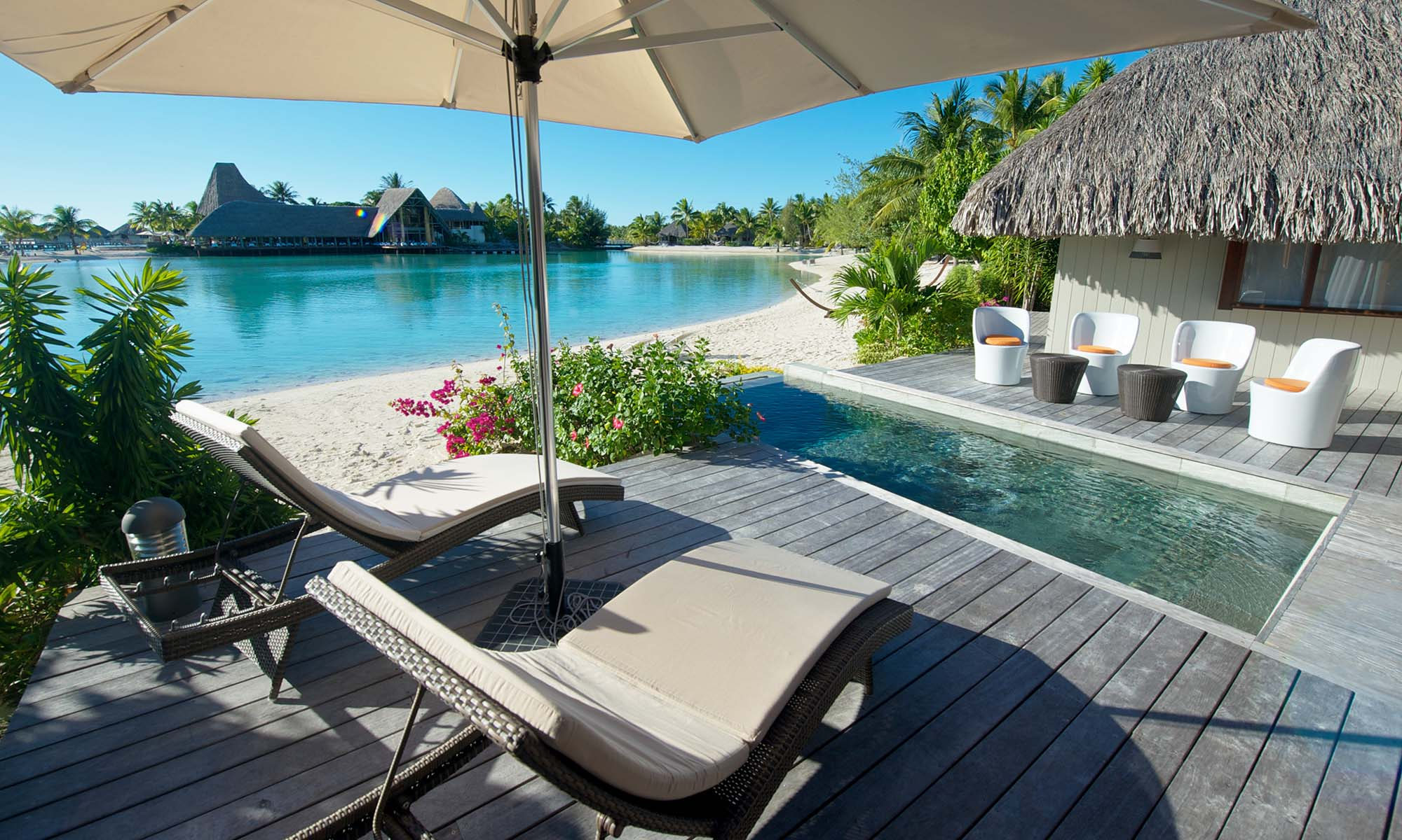 Le Meridien Bora Bora, Beach Villa Private Pool