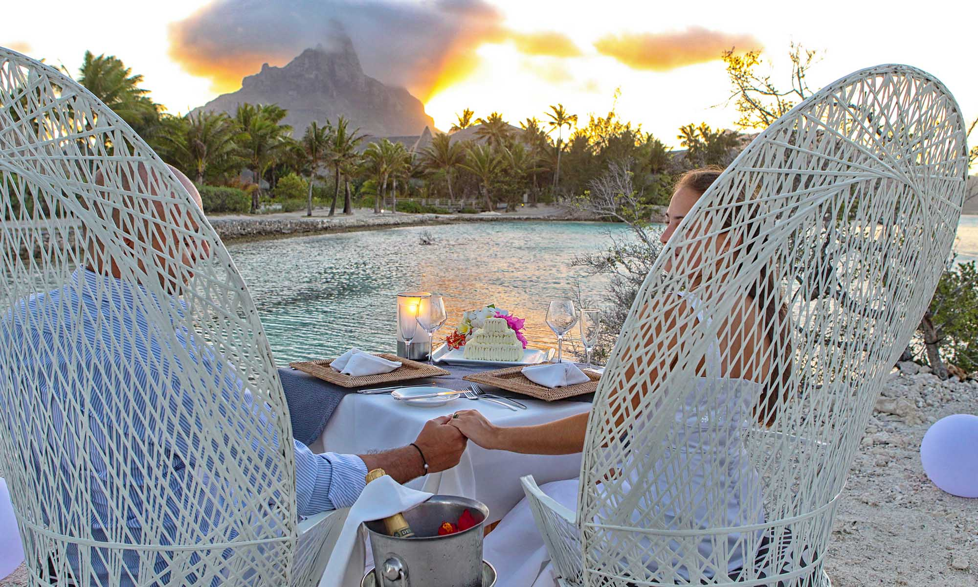 Le Meridien Bora Bora, Romantic Dinner