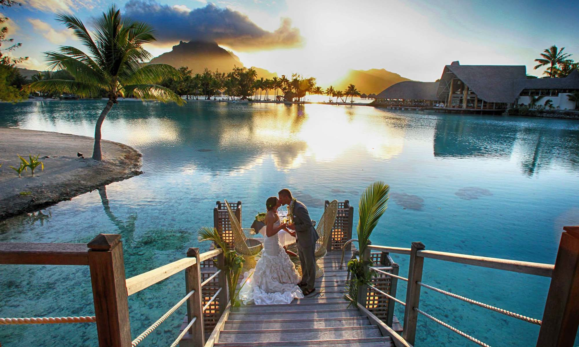 Le Meridien Bora Bora, Wedding