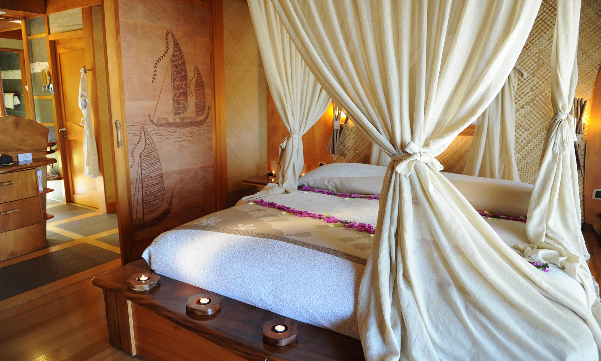 Le Taha'a Island Resort & Spa, Beach Villa