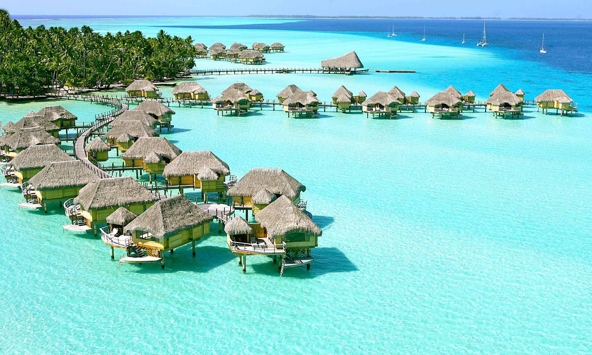 Le Taha'a Island Resort & Spa, Overwater Bungalows