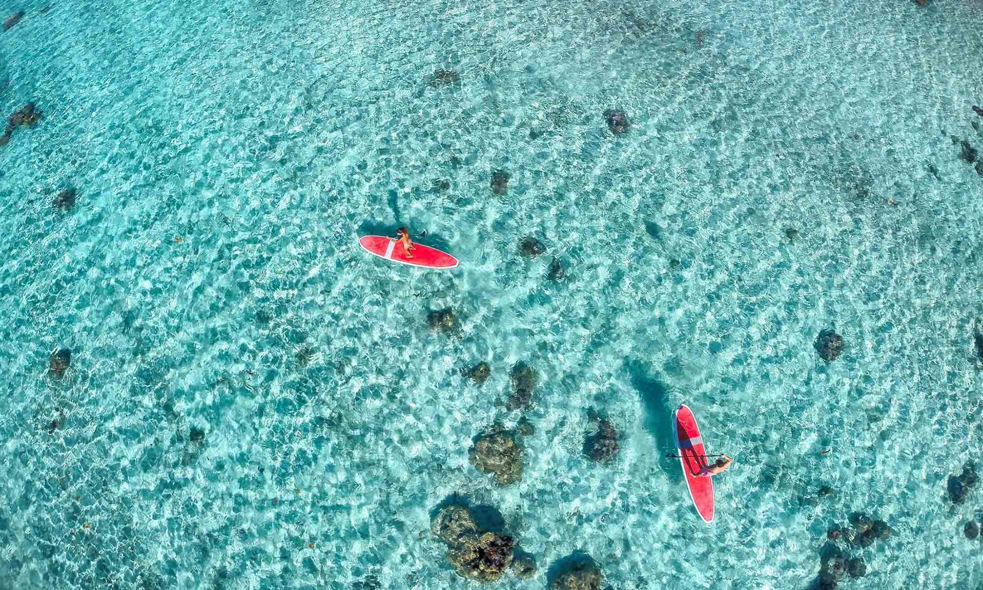 Le Taha'a Island Resort & Spa, Paddleboarding