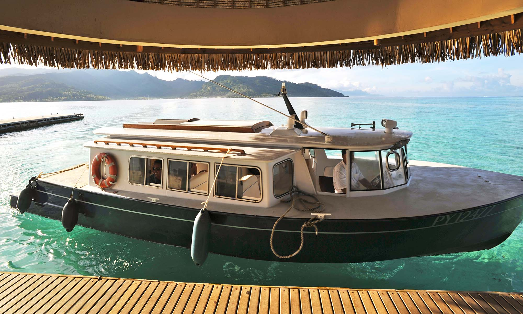 Le Taha'a Island Resort & Spa, Shuttle Boat