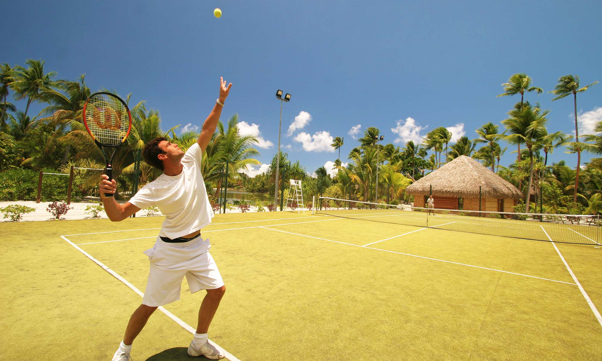 Le Taha'a Island Resort & Spa, Tennis Courts