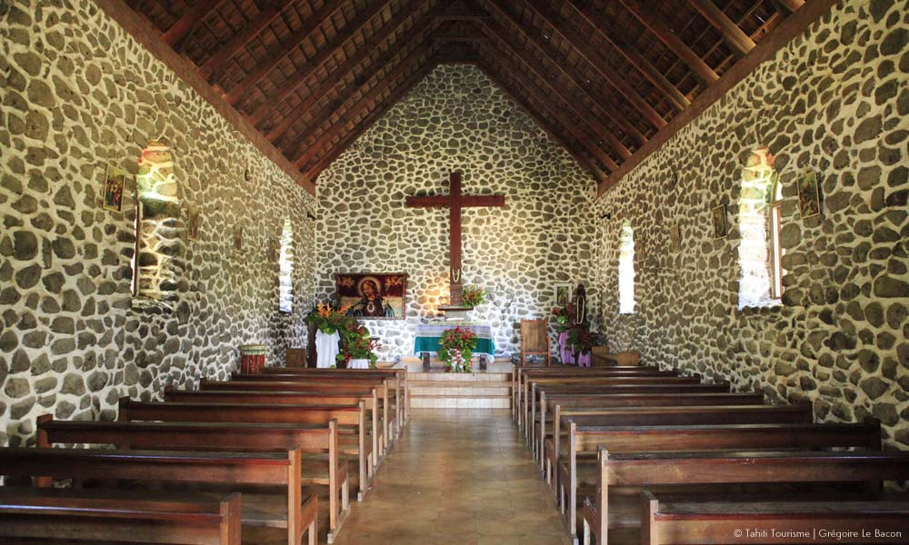 Hiva Oa historic church