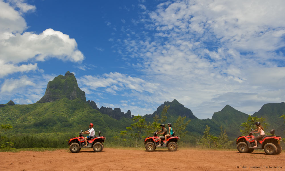 ATV Excursion on Moorea