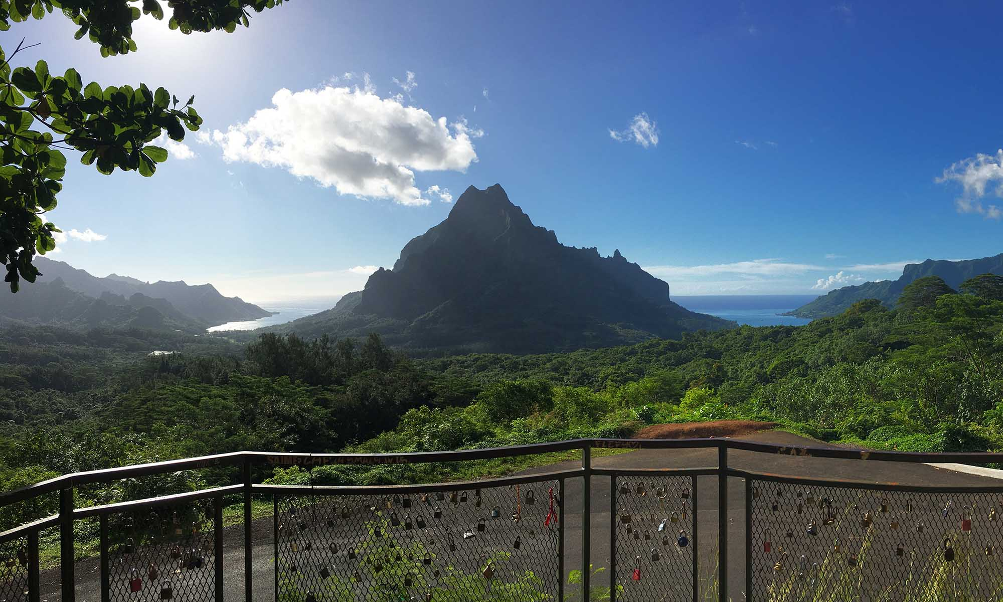 Belvedere Lookout Point, Moorea