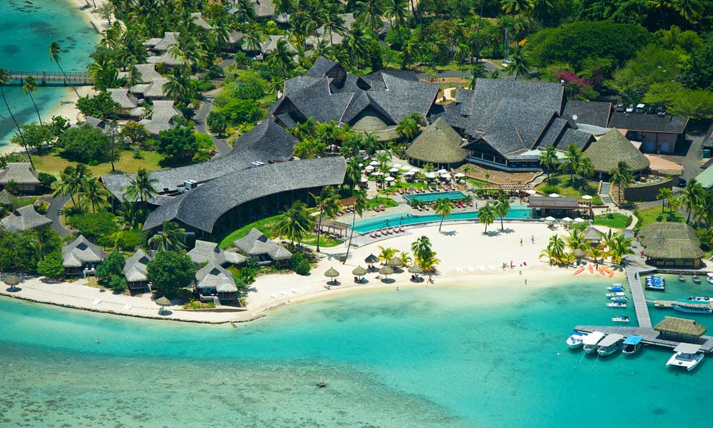 InterContinental Moorea Resort and Spa, Aerial View