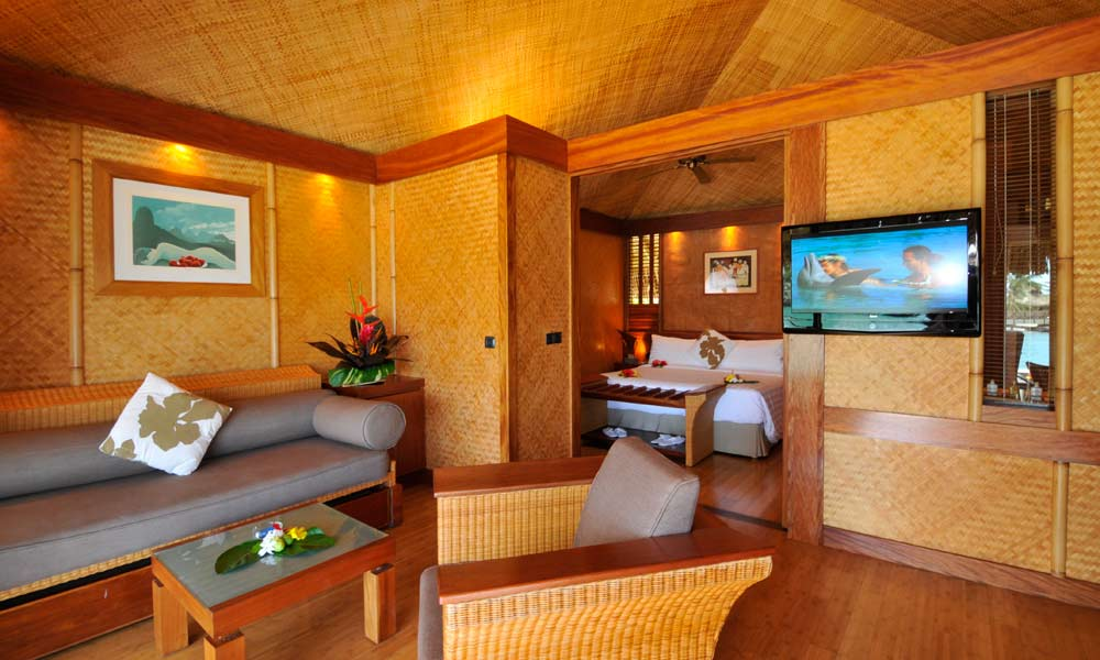 InterContinental Moorea Resort and Spa, Beach Junior Suite Bungalow