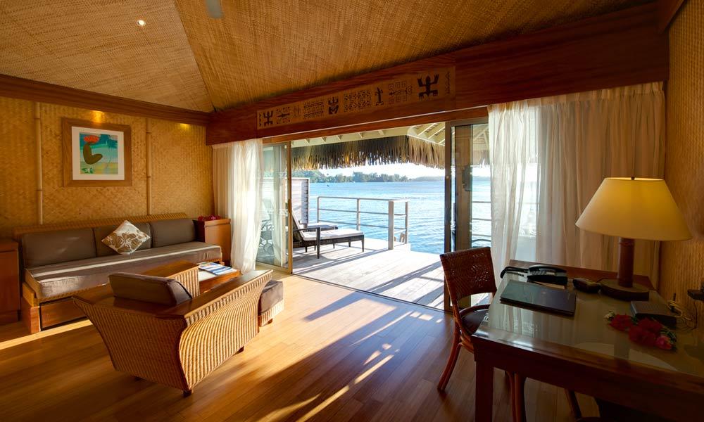 Moorea Pearl Resort Spa Premium Overwater Bungalow