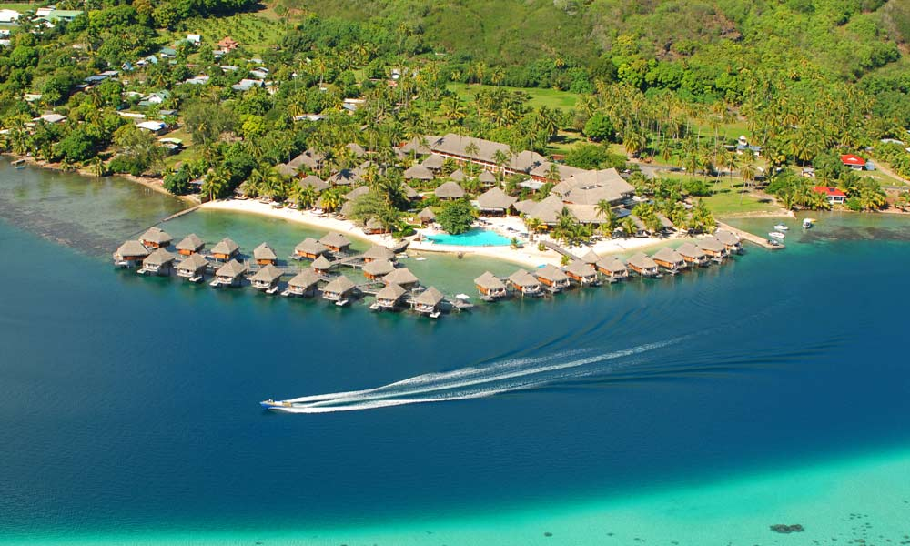 Manava Beach Resort and Spa,  Aerial View