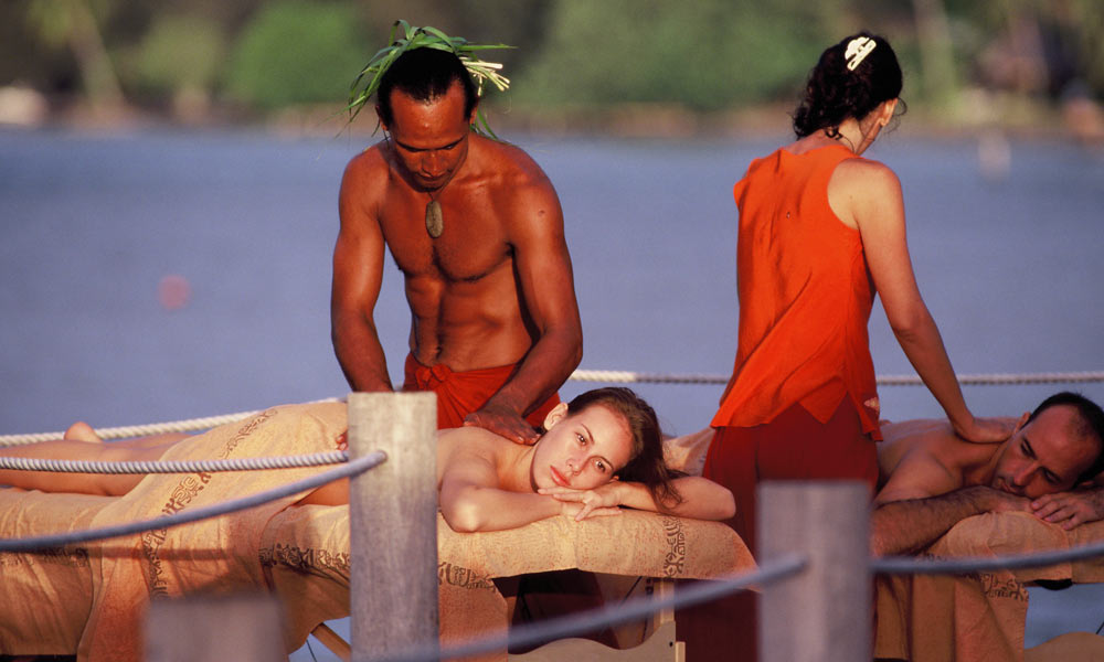 Manava Beach Resort and Spa,  Couples Massage