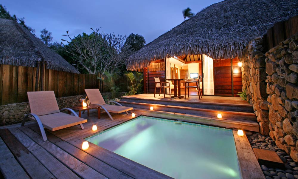 Manava Beach Resort and Spa,  Premium Garden Pool Bungalow