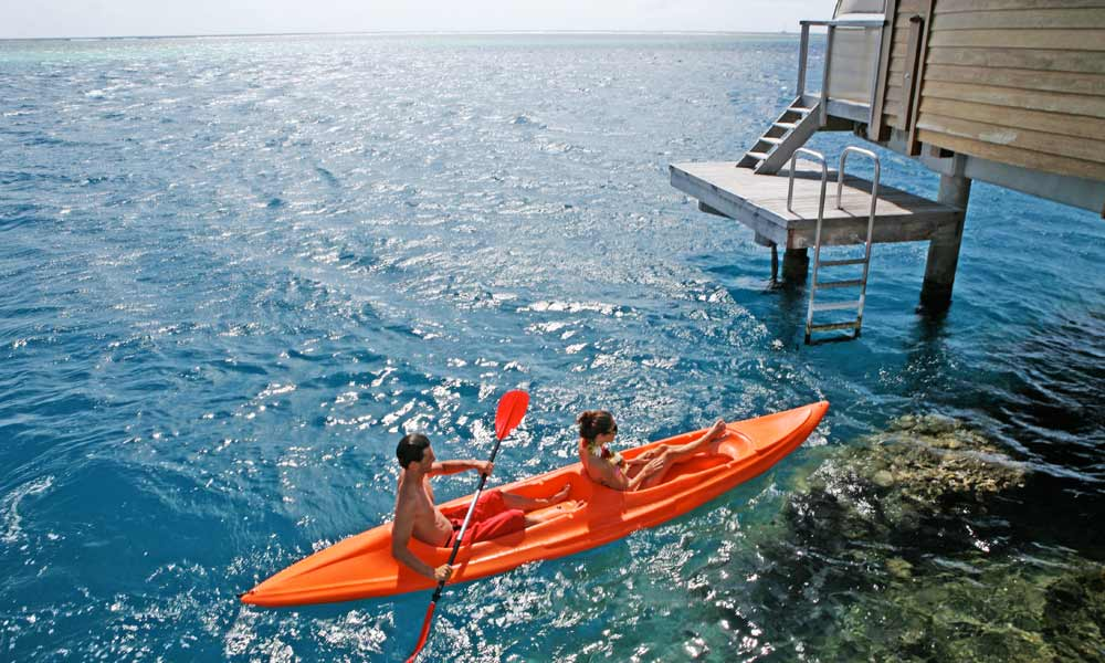 Manava Beach Resort and Spa, Kayak