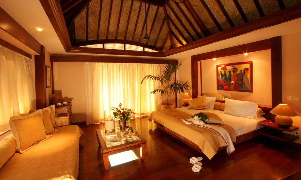Manava beach resort and spa formerly moorea pearl resort Bungalow interior design photos