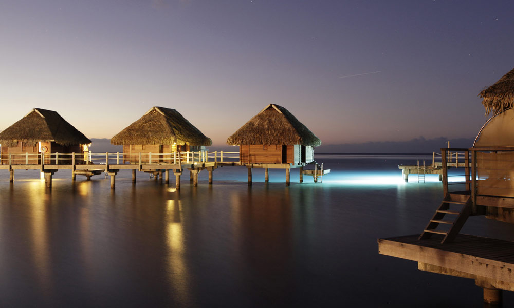 Manava Beach Resort and Spa,  Overwater Bungalows