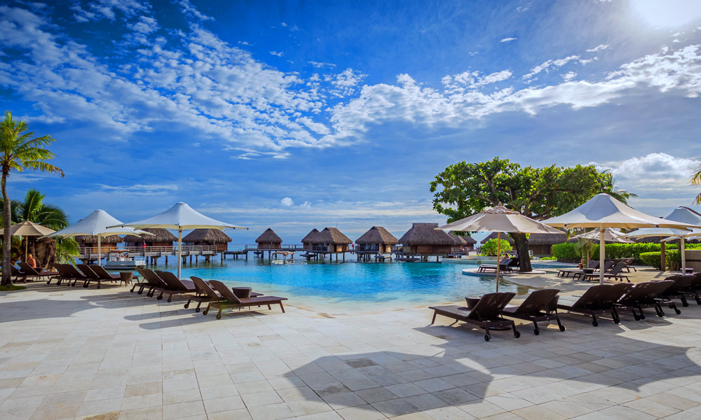 Manava Beach Resort and Spa, Pool
