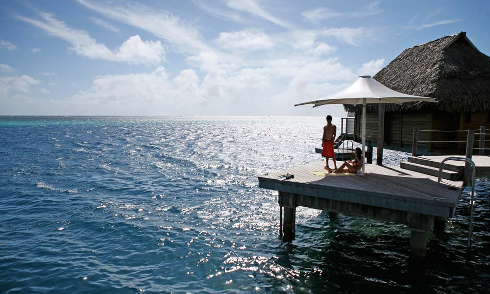 Manava Beach Resort and Spa,  Premium Overwater Bungalow